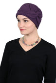 Luxury Fleece Butterfly Beanie Hat for Women