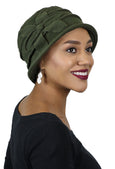 Fleece Flower Cloche Hat For Women