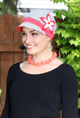 Whimsy Soft Cotton Hat Chemo Headwear for Women Summer In the City