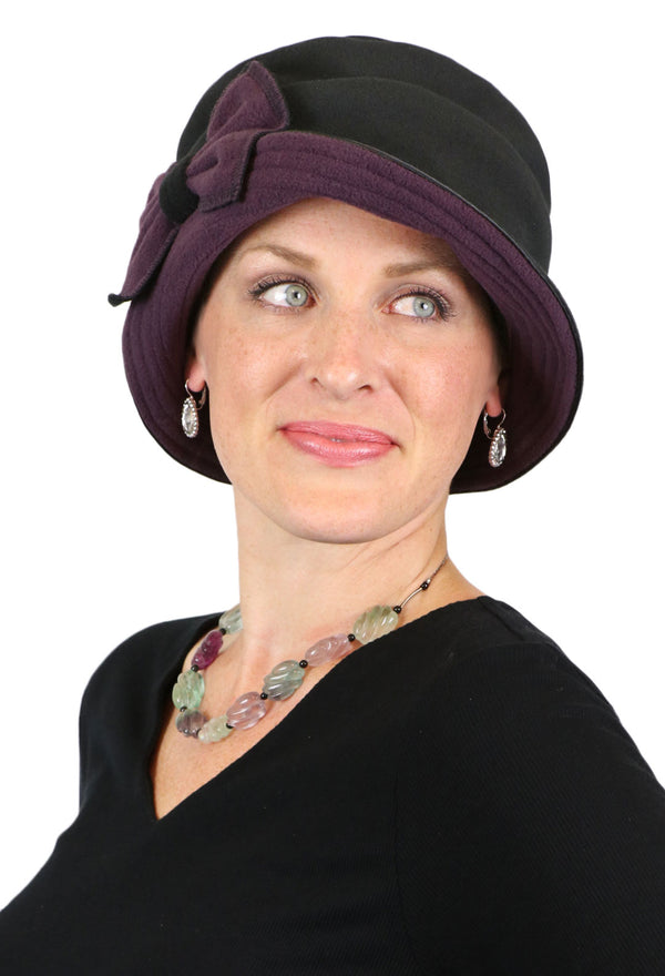 Lady Anne Fleece Cloche Hat