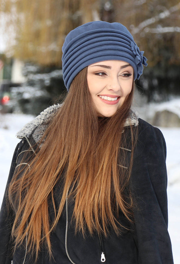 Lauren Luxury FLEECE Beanie Hat for Women