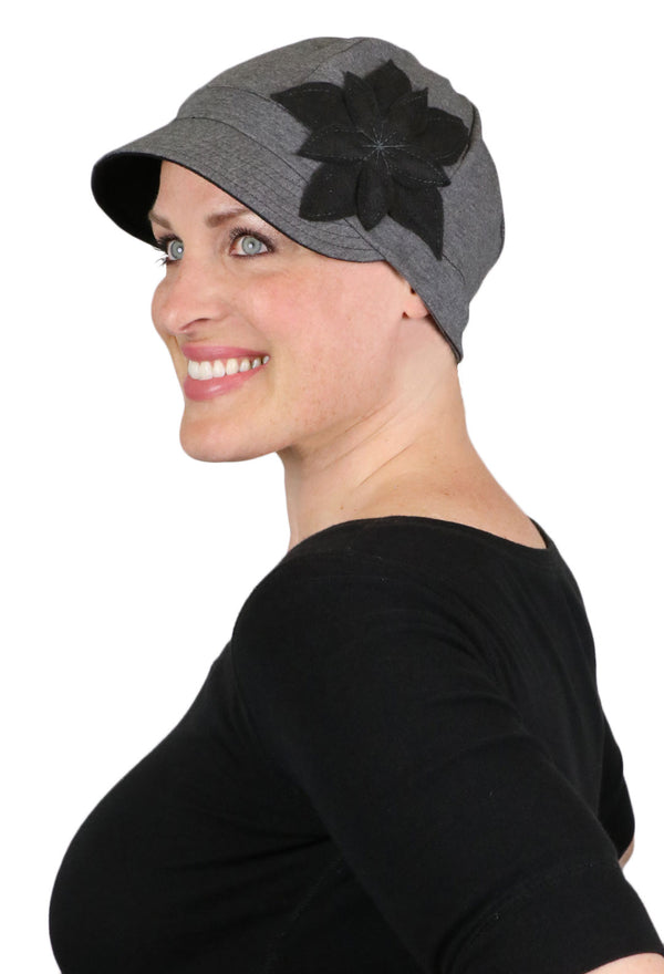 Whimsy Soft Cotton Chemo Cap for Women Moondance