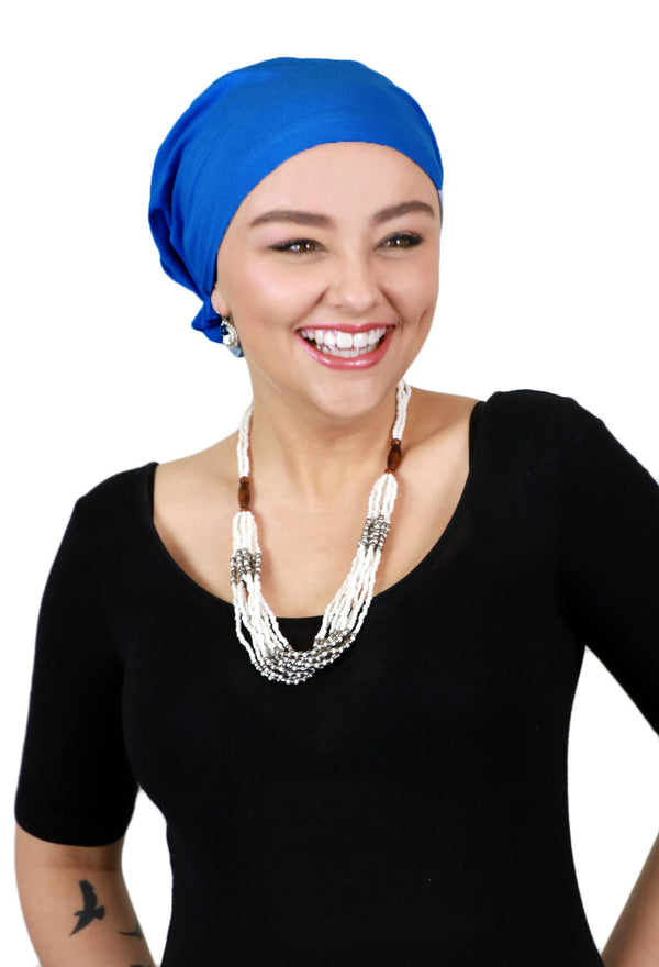 BAMBOO Celeste Head Scarf Pre Tied Chemo Headwear For Women