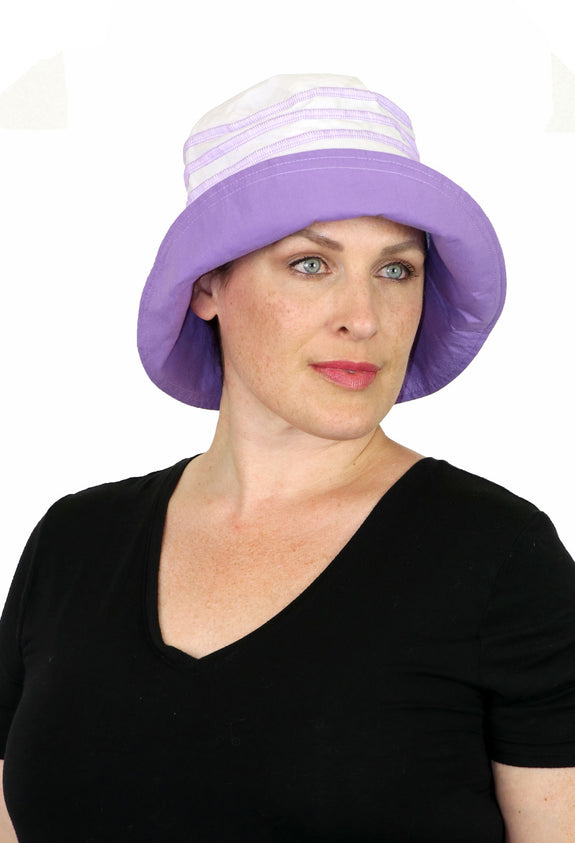 Seaside 100% Cotton Summer Hat for Women Chemo Headwear