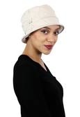 Seattle Chic Combed Cotton Cloche Hat for Women