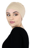 Serena Cotton Sleep Cap for Chemo Headwear