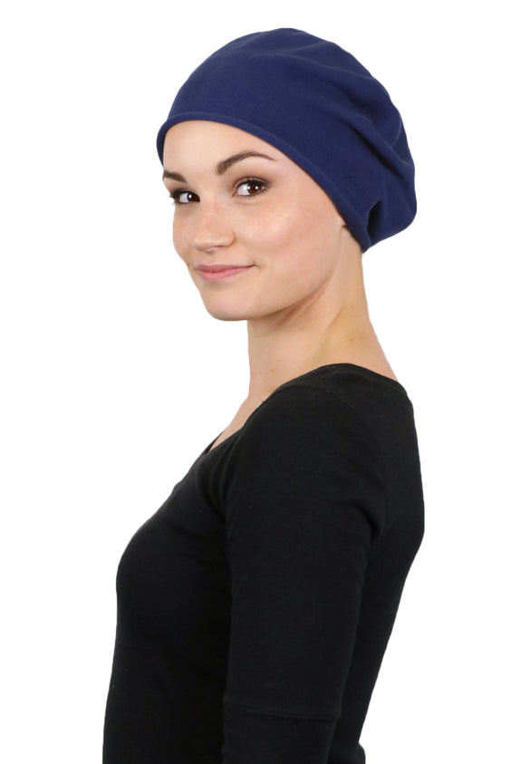 Soho Slouchy Beanie Cancer Headwear By Parkhurst Hats