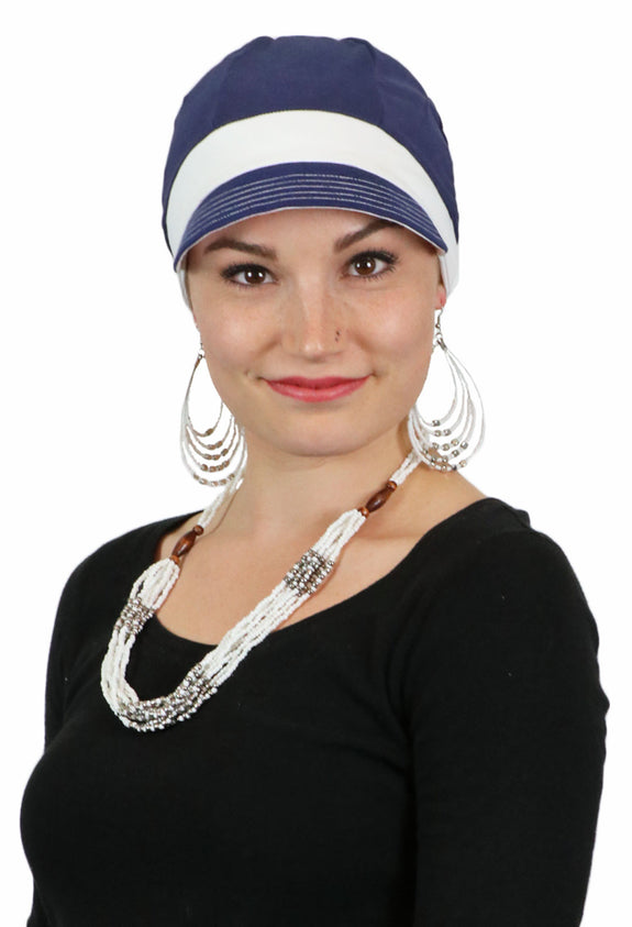 Whimsy Sport Soft Cotton Chemo Hat for Women All Colors