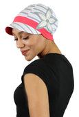 Whimsy Cotton Chemo Hat for Women Under the Boardwalk