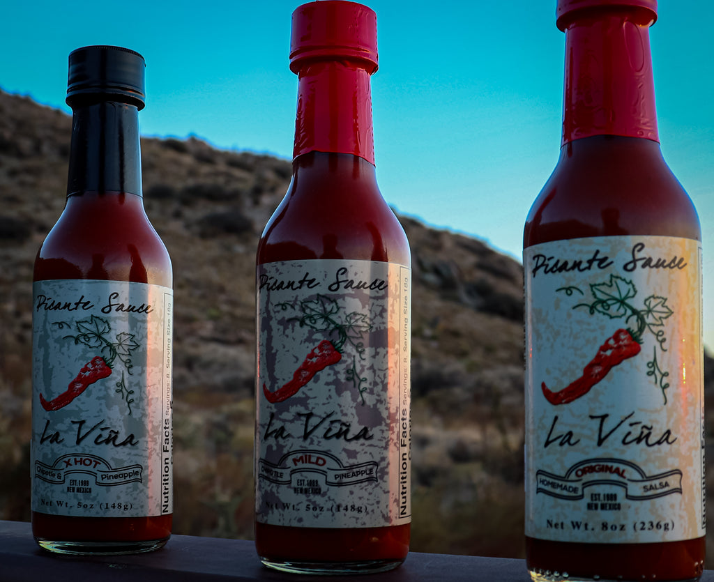 La Vina Picante Sauce Variety 4 Pack