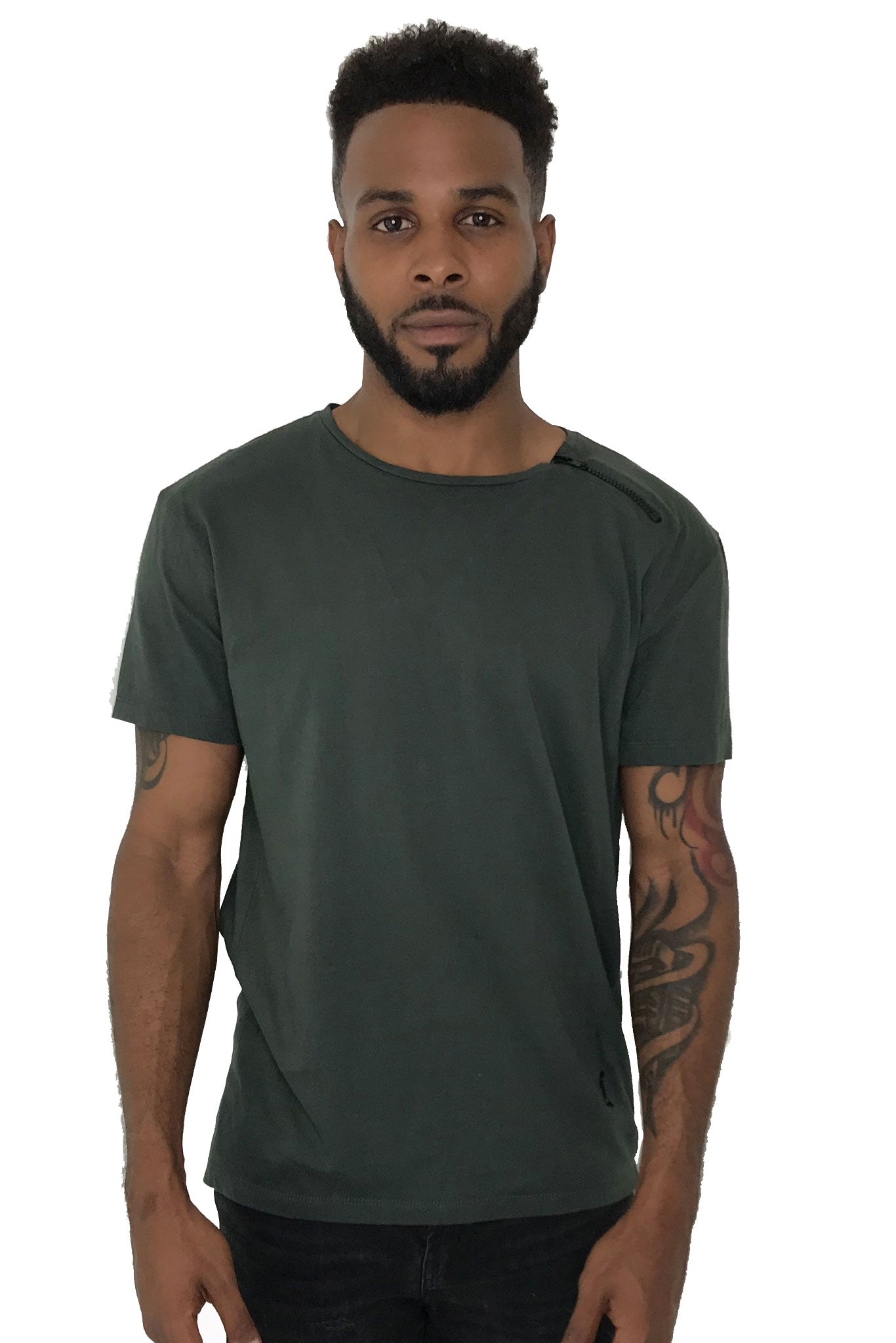 Men T-Shirt Balance Green by Religion UK - Brit Boss