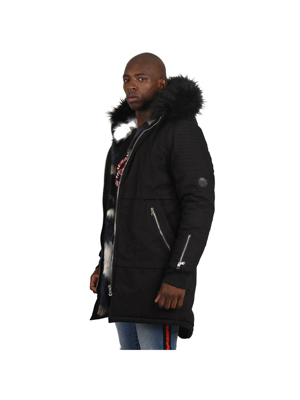 Men's Cotton Parka Jacket by Project X Paris - Brit Boss