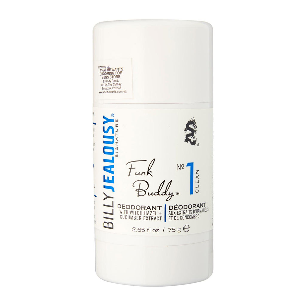 Billy Jealousy Funk Buddy No 1 Deodorant Clean