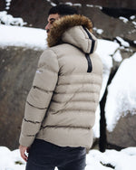 Men's Precision Jacket Champagne by 4Bidden Clothing - Brit Boss