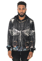 EVOLUTION SILK HOODIE BY SONS OF HEROES