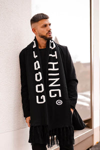 Future Black Scarf by Good for Nothing