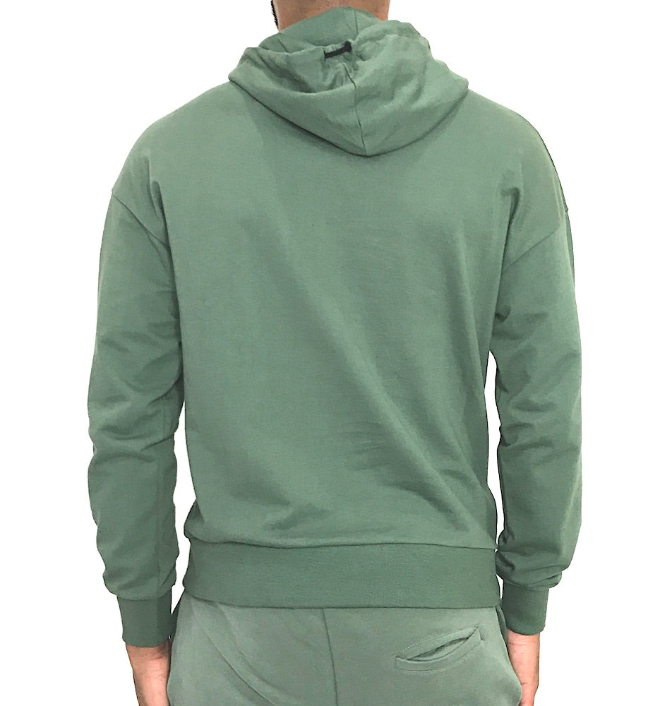 Man Pouch Hoody Army Green by Religion U.K. - Brit Boss