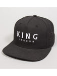 Stepney Snapback Black Cap by King London