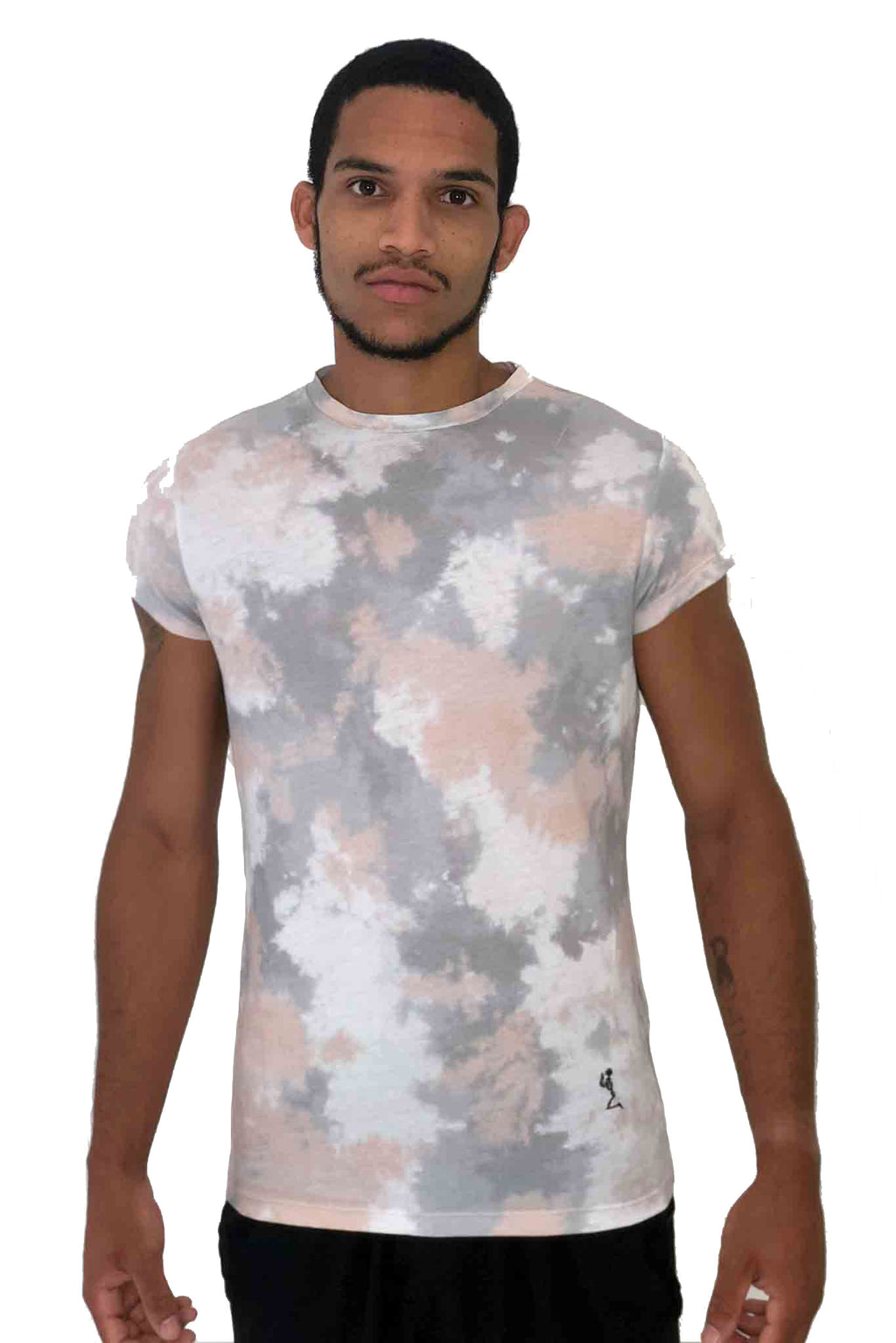 Men T-Shirt Tie Dye Camo Pink by Religion UK 2018 Edition - Brit Boss