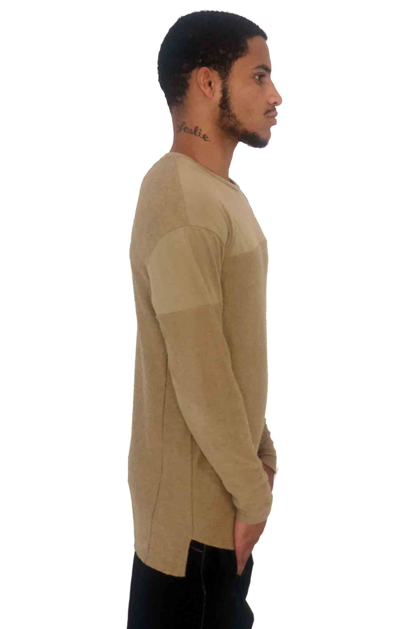 Men Sweater Truth Camel by Religion UK - Brit Boss