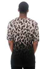 Men T-Shirt Wild Leopard Black by Religion UK - Brit Boss