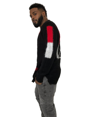 Men Box Knit Cardigan by Religion UK. - Brit Boss