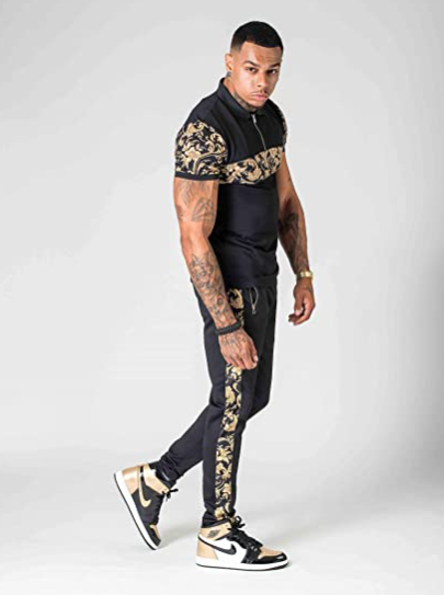Project X Paris Baroque Pattern Joggers Men Brit Boss Store