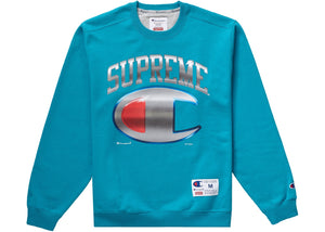 Supreme®/Champion® Chrome Crewneck