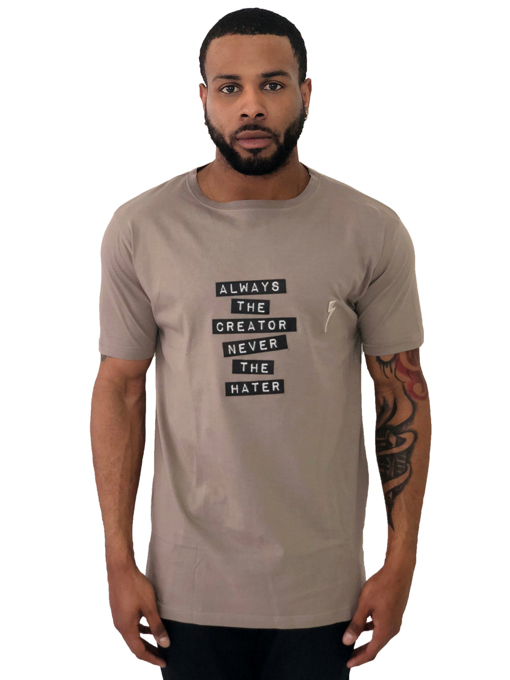 Men T-Shirt ATC Gray by Sons of Heroes - Brit Boss