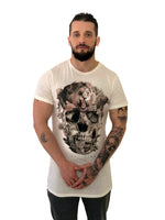 "Men T-Shirt ""Ark"" Scull White by Religion U.K. - Brit Boss"