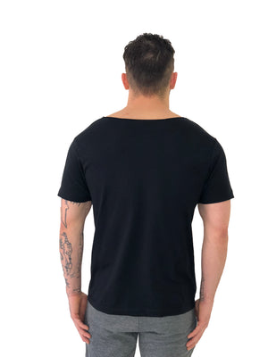 Tartan Logo Black Tee by Brit Boss 3