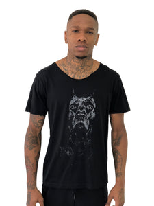 "T-Shirt ""Great Dane"" The Elegance Of Fashion Pet Black by iacobuccyounes Italy - Brit Boss"