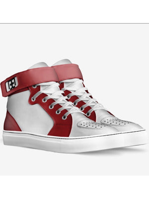Custom Crafted Brit Boss Basketball High Tops - Brit Boss