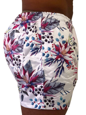 Tropical Floral Swim Shorts by Sinners Attire 2