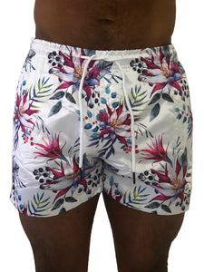 Tropical Floral Swim Shorts by Sinners Attire