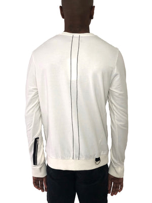 Honoray Off White Sweater with Side Zipper by Religion, U.K. - Brit Boss