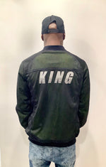 King Jacket Green and Black