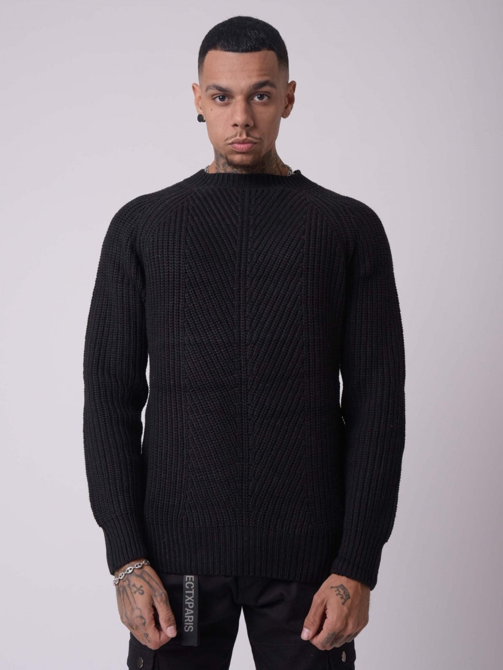 Project x Paris Black Sweater