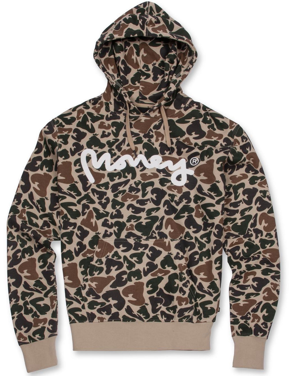 Money Clothing Camo Sig Hoodie