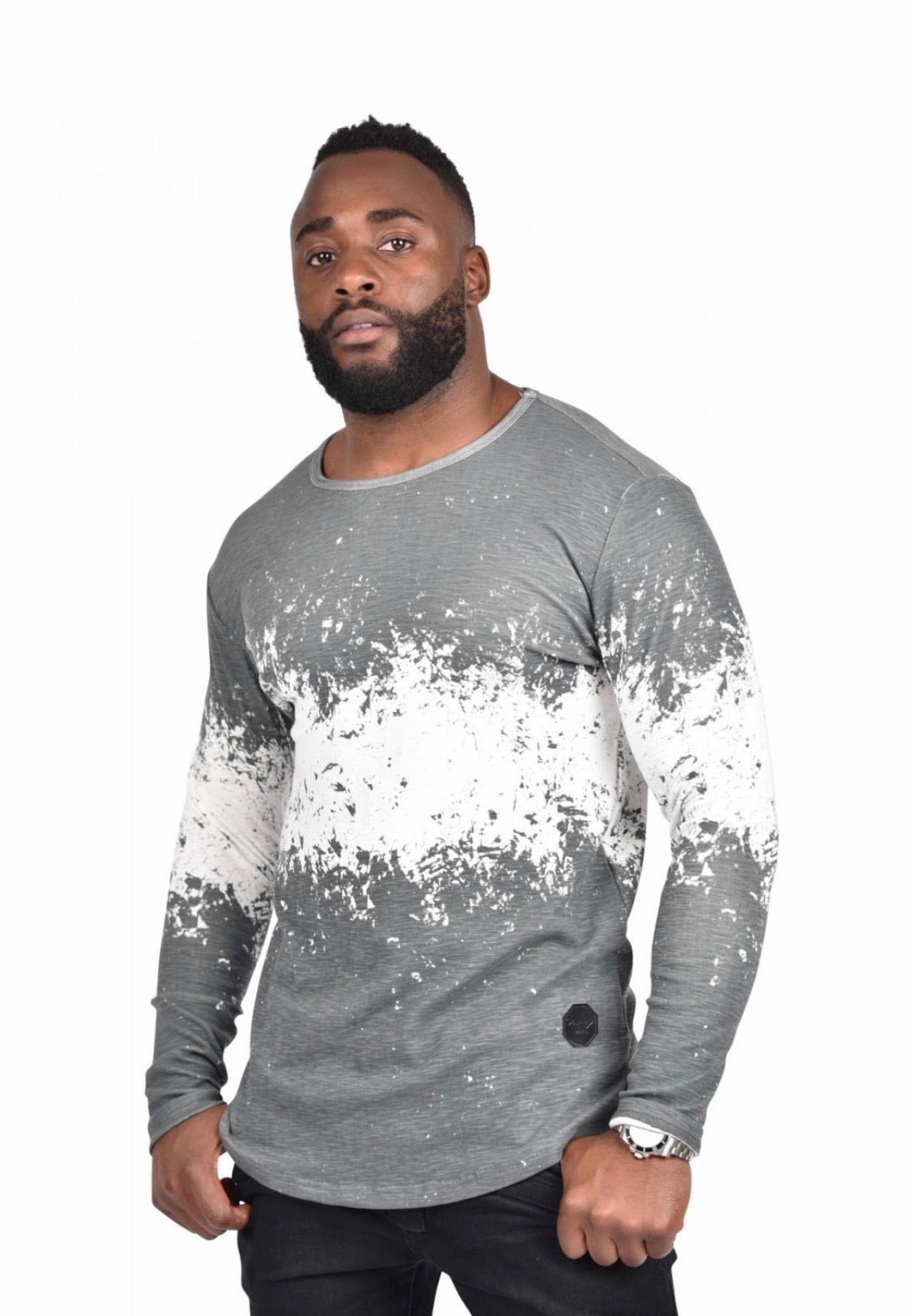 Project x Paris Grey Splash Long Sleeve