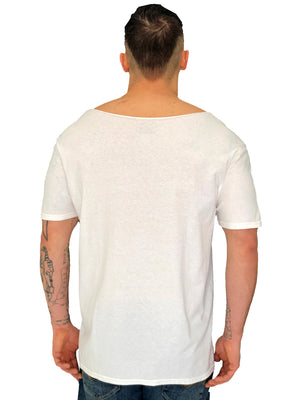 Provocateur Iacobuccyounes Raw Edge White Tee 3