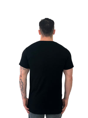 "Men T-Shirt ""Virgo"" Water Angel Black by iacobuccyounes Italy - Brit Boss"