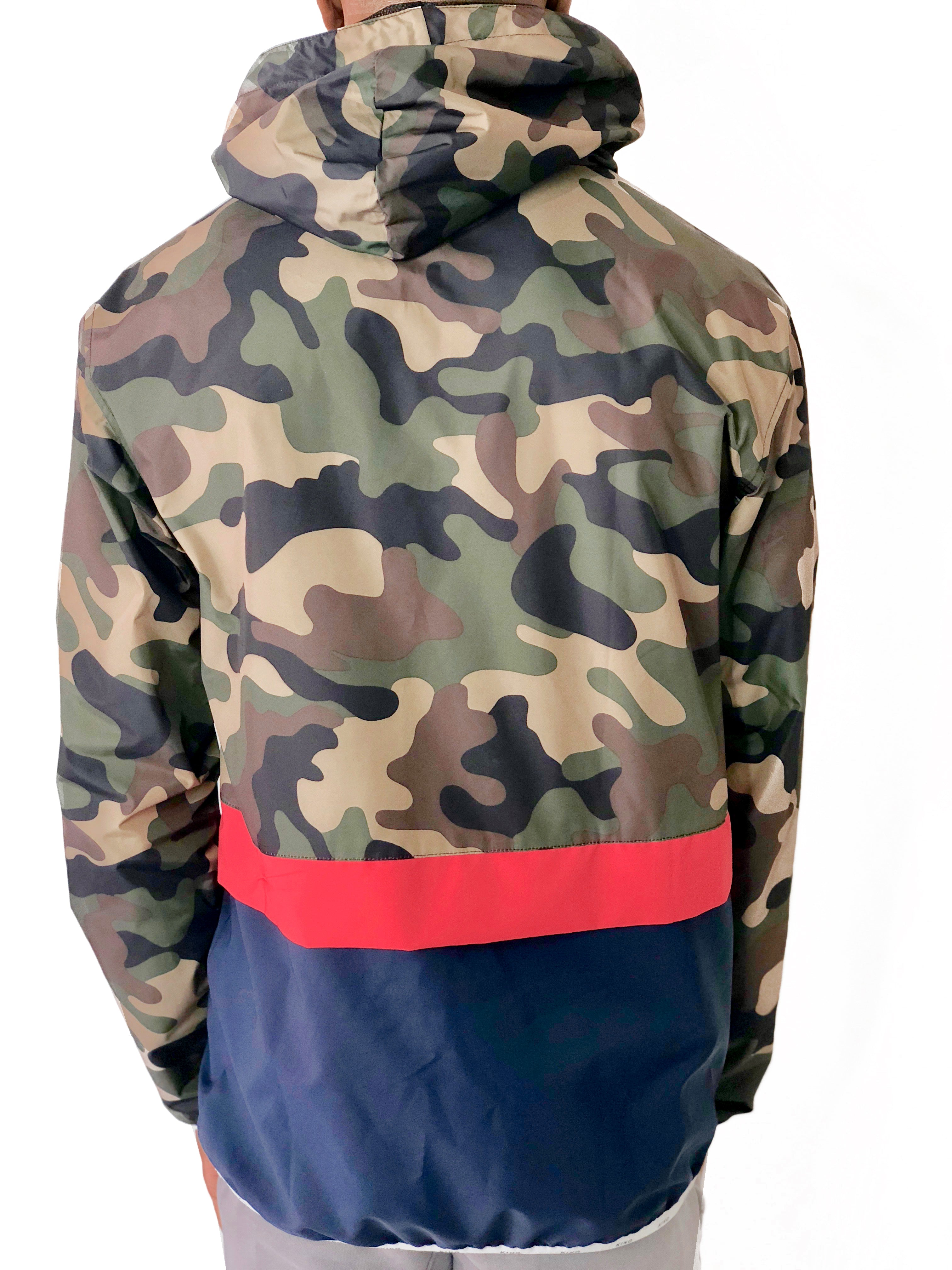 Men King Camo Jacket with zipper by Brit Boss - Brit Boss