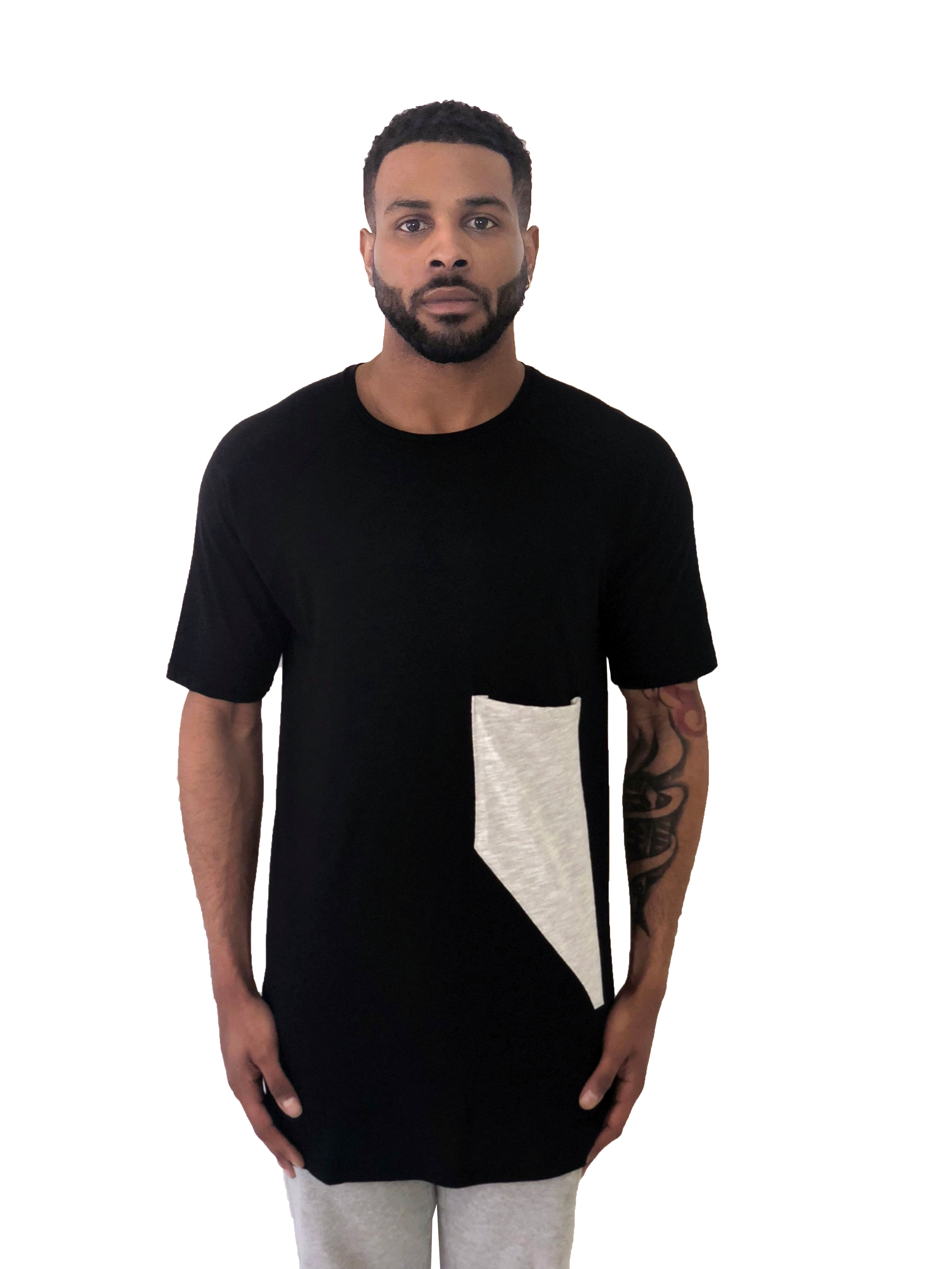 Cotton Silk Pocket Shirt by KIUB