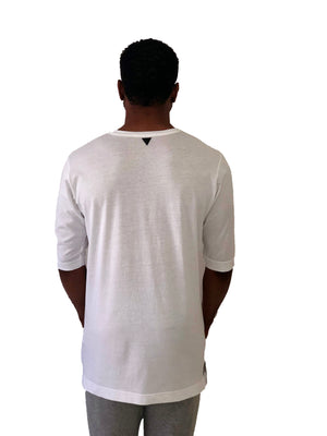 White Pocket Tee by Label 19 2