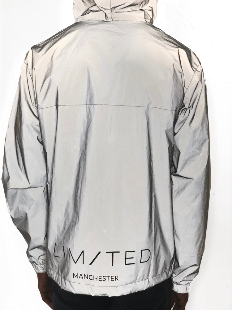Reflective Nylon Jacket by Limited Manchester 3