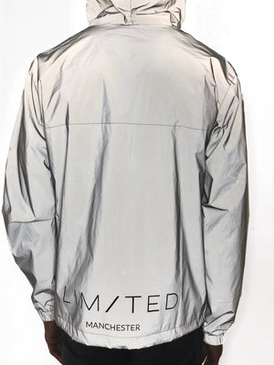 Reflective Nylon Jacket by Limited Manchester - Brit Boss
