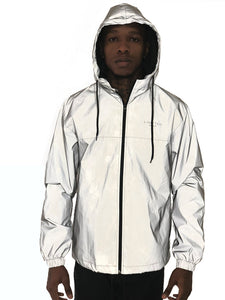 Reflective Nylon Jacket by Limited Manchester