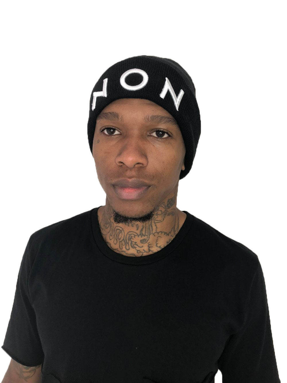 Black Beanie by Non Grada - Brit Boss