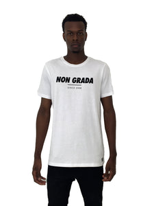 Men T-Shirt Non Grada White by Non Grada - Brit Boss